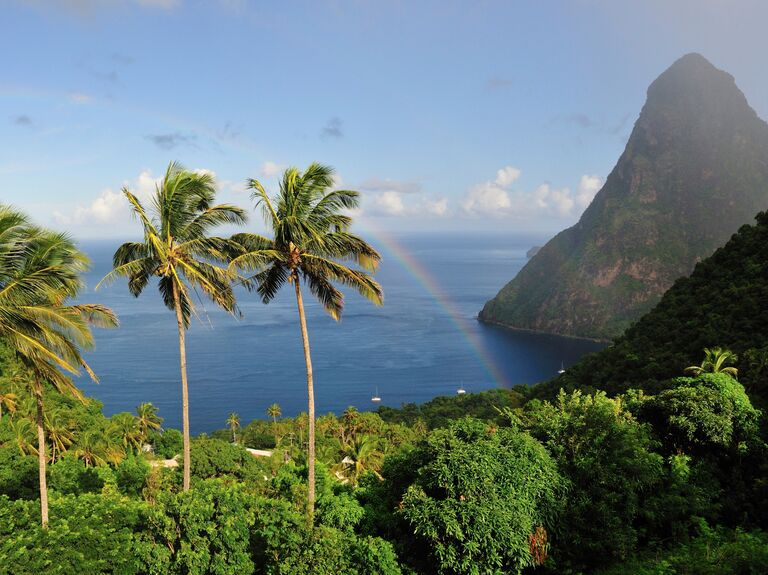 Adventurous honeymoon St. Lucia