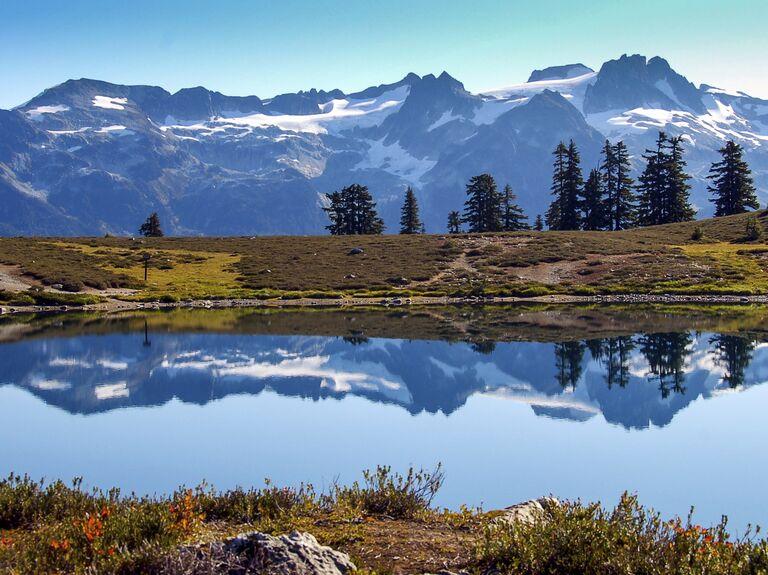 Mountains in Whistler, Canada