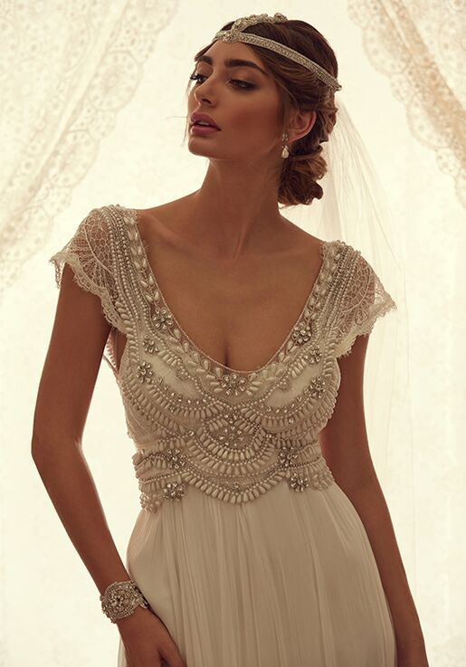 Anna Campbell Coco Dress Wedding Dress The Knot