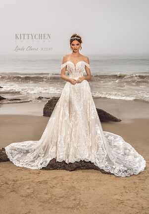 KITTYCHEN Couture LINDA CLAIRE Wedding Dress