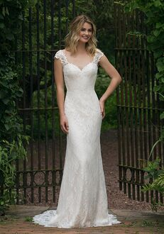 Sincerity Bridal 44053 Sheath Wedding Dress