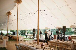 Blooming Hill Farm Tent Reception