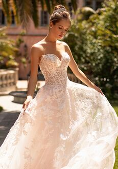 Moonlight Couture H1429 A-Line Wedding Dress