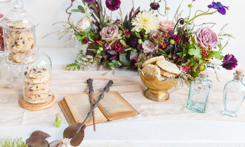 Harry Potter party themed inspiration and ideas