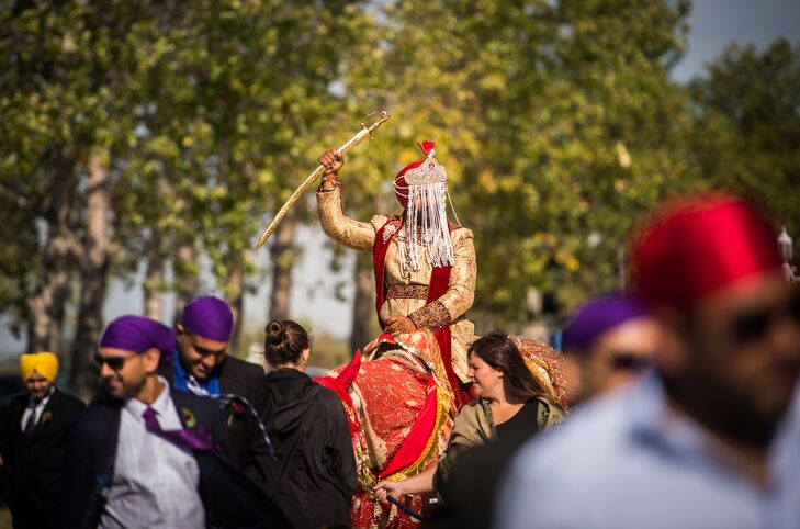 Traditional Pre-Ceremony Baraat
