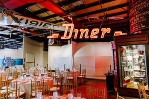 Wedding Reception at the Baltimore Museum of Industry, Baltimore