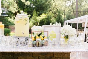 Lemonade at Backyard Minimony in New York