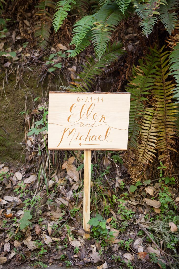 Whimsical Handcrafted Wood Sign