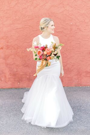 Bridal Portraits at 701 Whaley in Columbia, South Carolina