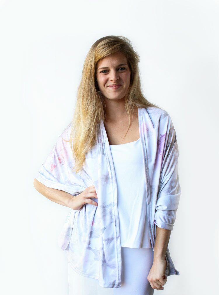 ZAGS tie-dye shawl
