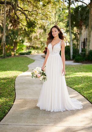 Stella York 7135 A-Line Wedding Dress