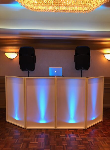 Sleek setup for your events