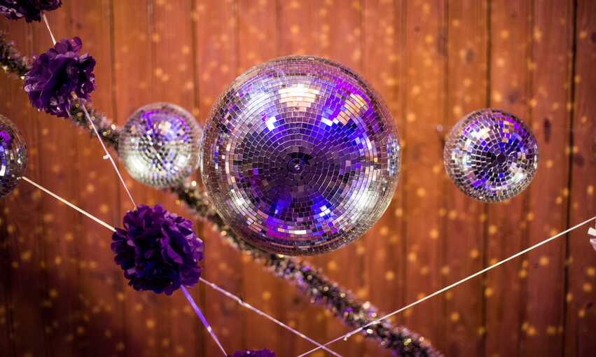 Flashdance party themed inspiration and ideas