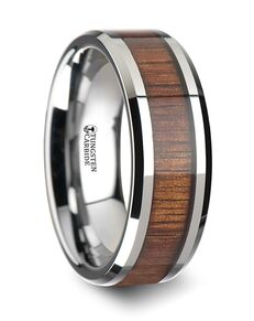 Mens Tungsten Wedding Bands W1891-KOWI Tungsten Wedding Ring