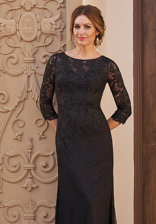Jade Couture Mother of the Bride by Jasmine K208060U Black Mother Of The Bride Dress