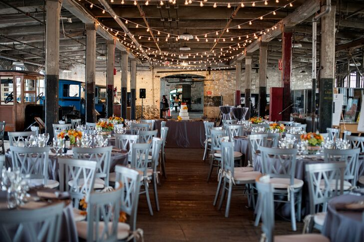 Loft Wedding Reception At Ford Piquette Avenue Plant