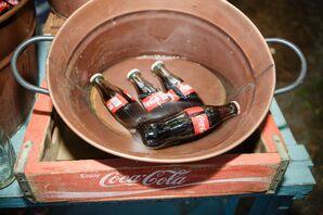 Vintage Coke Cocktail Hour Drinks