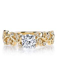 MARS Fine Jewelry Unique Round Cut Engagement Ring