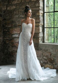 Sincerity Bridal 44064 Sheath Wedding Dress