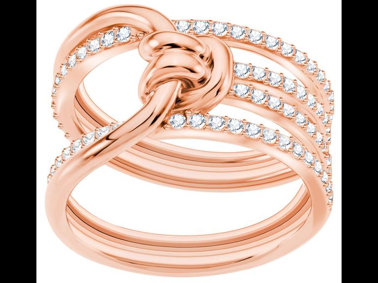 Crystal ring 15-year anniversary gift