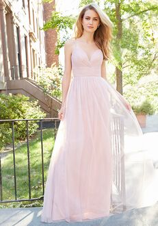 Hayley Paige Occasions 5802 V-Neck Bridesmaid Dress