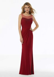 MGNY 72119 Red Mother Of The Bride Dress