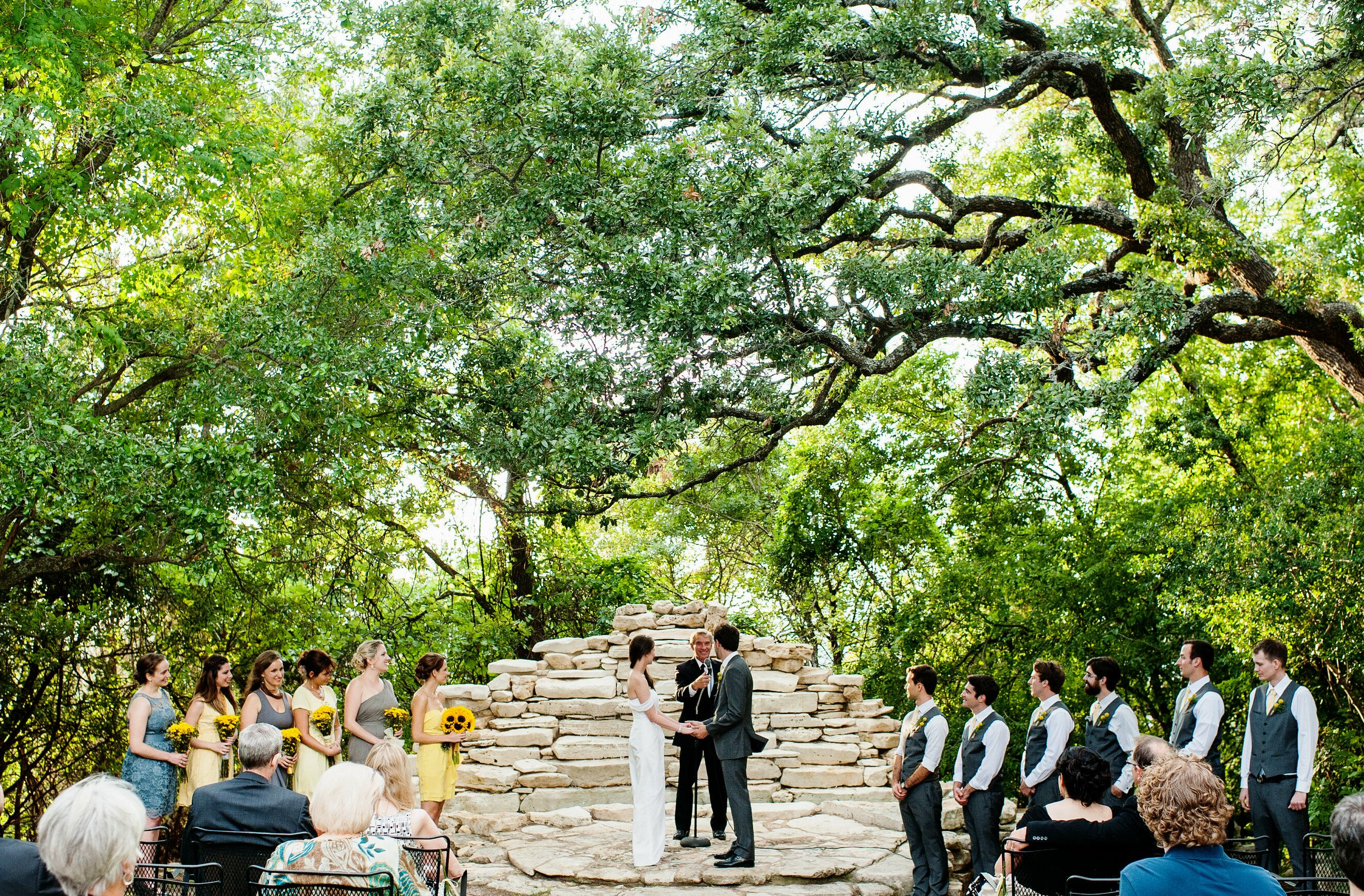 House On The Hill Reception Venues Austin Tx