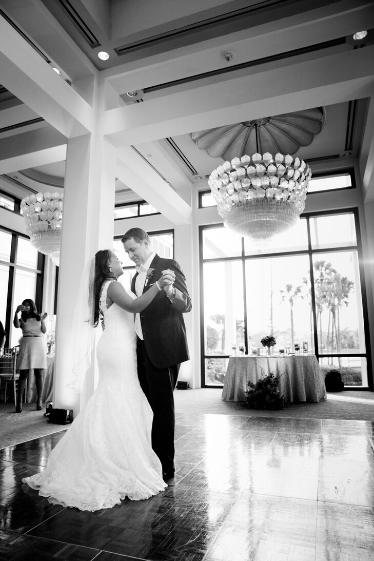 """For future couples, Marzetta shares: """"Everyone always tells you that your wedding day flies by, and they are right! Don't forget to breath and take it all in. Some things may not go as planned, but don't stress about it. Chances are that none of your guests even noticed!"""""""