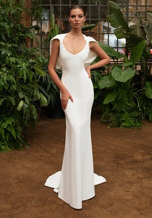 ZAC POSEN FOR WHITE ONE GWYNETH Mermaid Wedding Dress