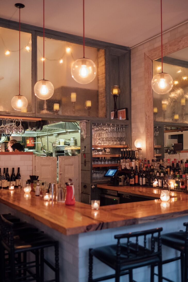 Interior Bar of Faun in Brooklyn, New York