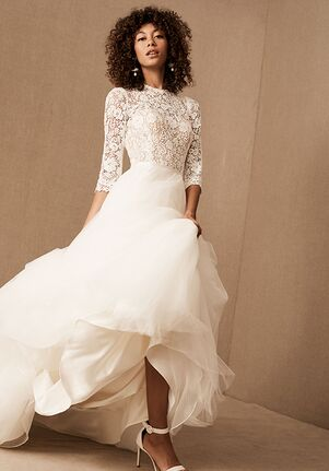BHLDN Frederique Gown Ball Gown Wedding Dress