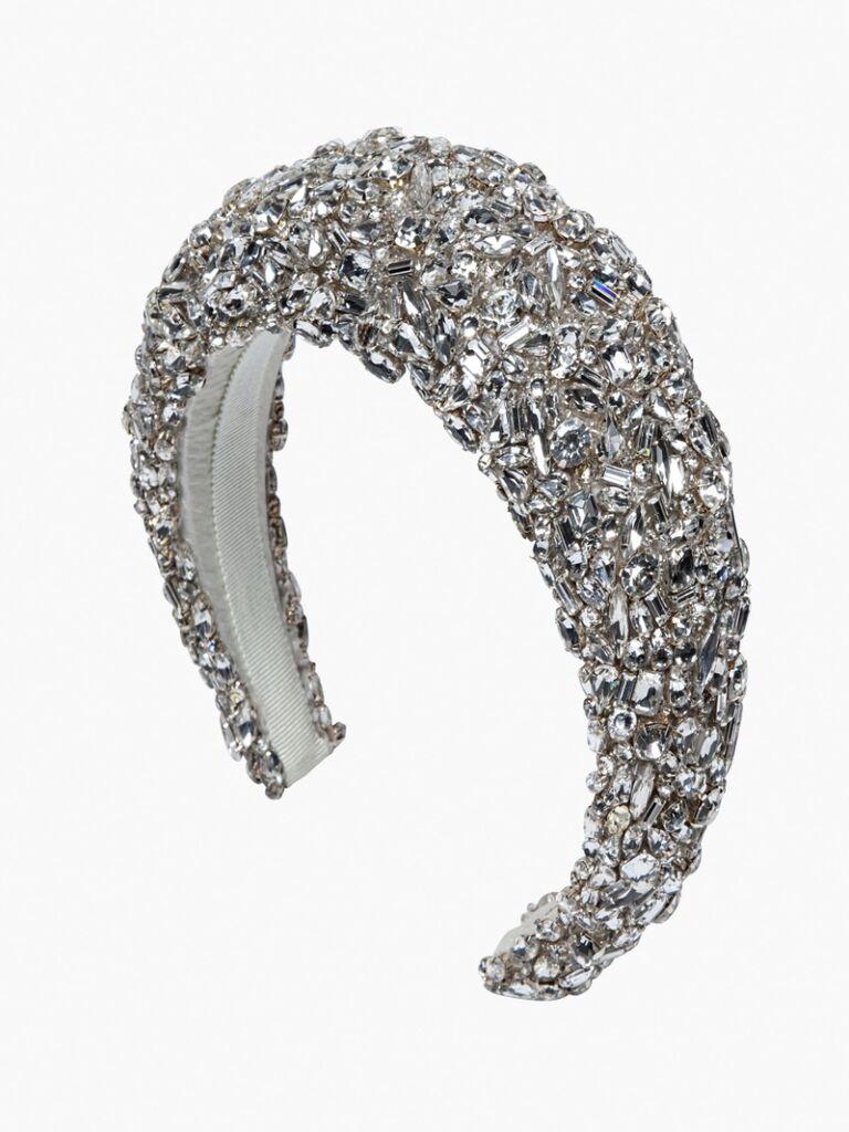 wedding hair pieces bejeweled headband