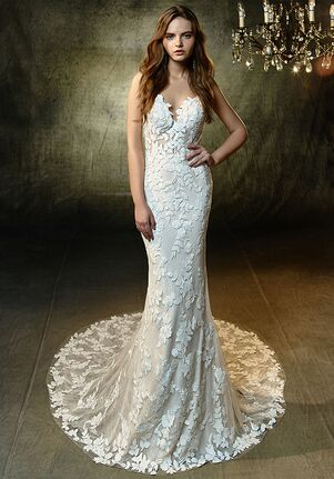 Blue by Enzoani Lesley A-Line Wedding Dress
