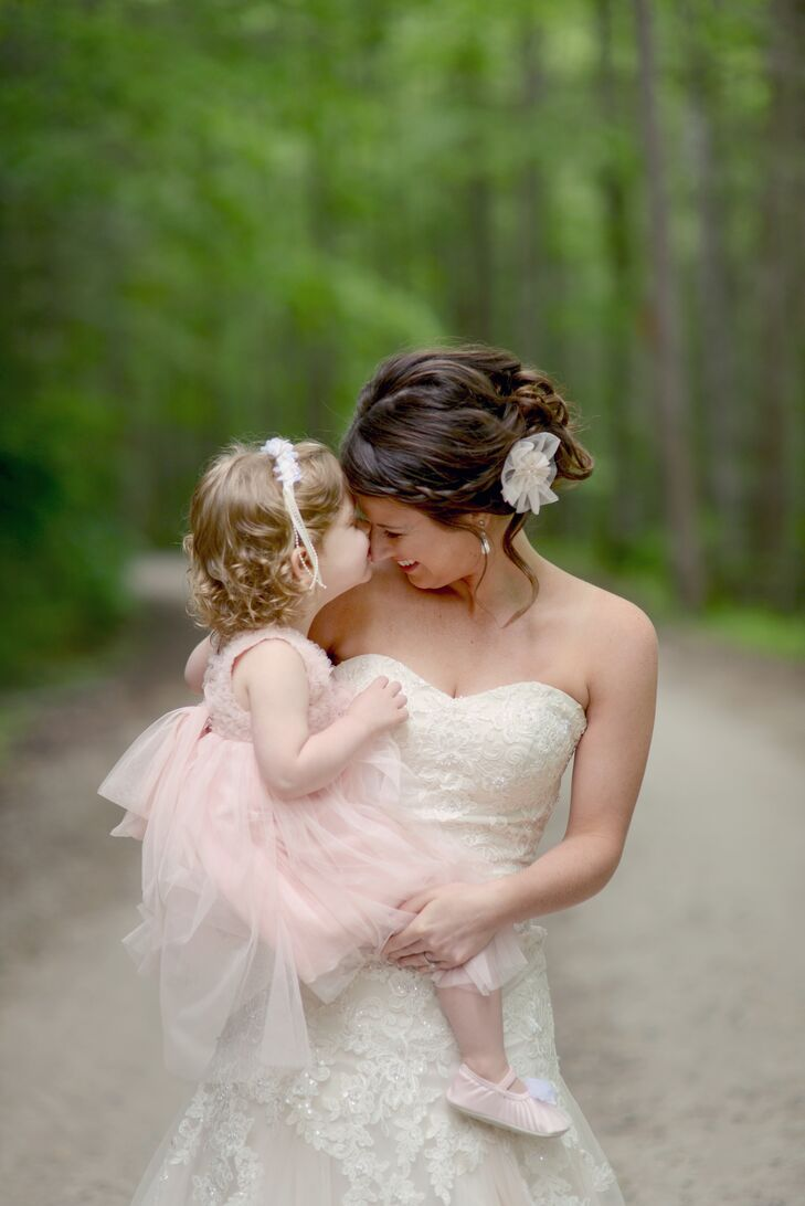 Adorable Blush Flower Girl Dress