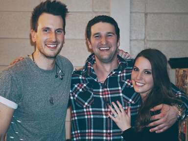 Couple engaged at Russell Dickerson concert in Denver