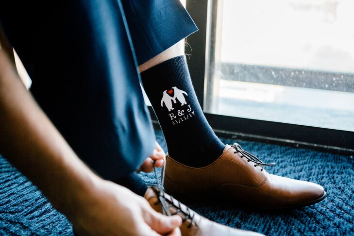 PersonalizedS Socks with Custom Monogram