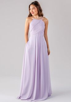 Kennedy Blue Milly Halter Bridesmaid Dress
