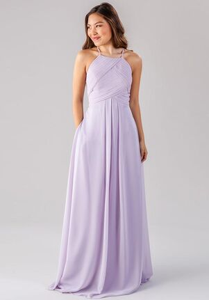 Kennedy Blue Milly Halter Bridesmaid Dress