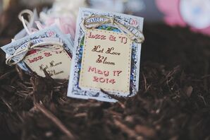 Packaged Bird Seed Favors