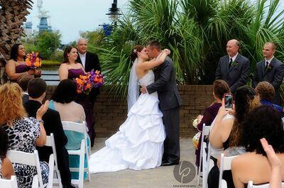 A Beach Wedding Minister