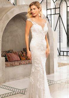 Beloved by Casablanca Bridal BL309 Lorena Sheath Wedding Dress