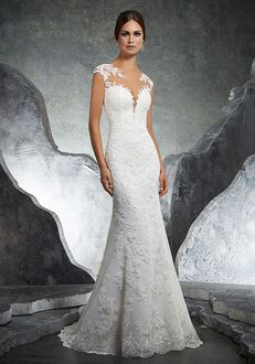 Morilee by Madeline Gardner/Blu Kaylin/ 5612 Sheath Wedding Dress