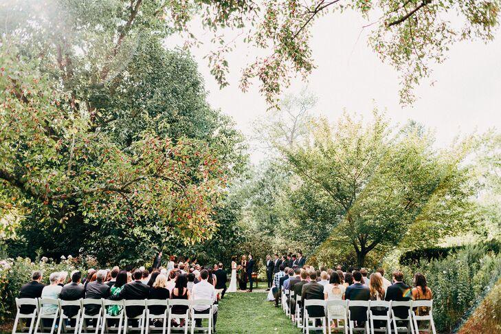Intimate Fernbrook Farms Garden Ceremony