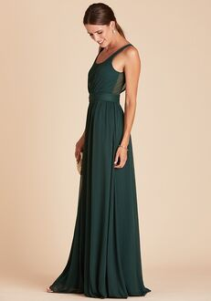 Birdy Grey Jan Scoop Back Dress in Emerald Scoop Bridesmaid Dress