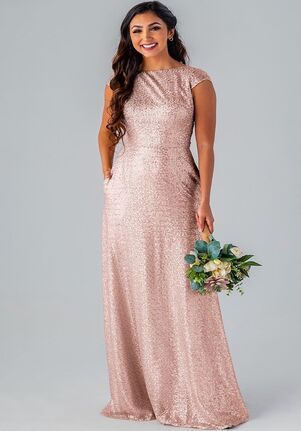 Kennedy Blue Jamie Bateau Bridesmaid Dress