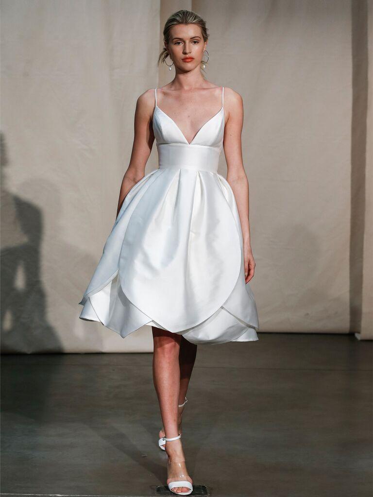 Justin Alexander beach wedding dress