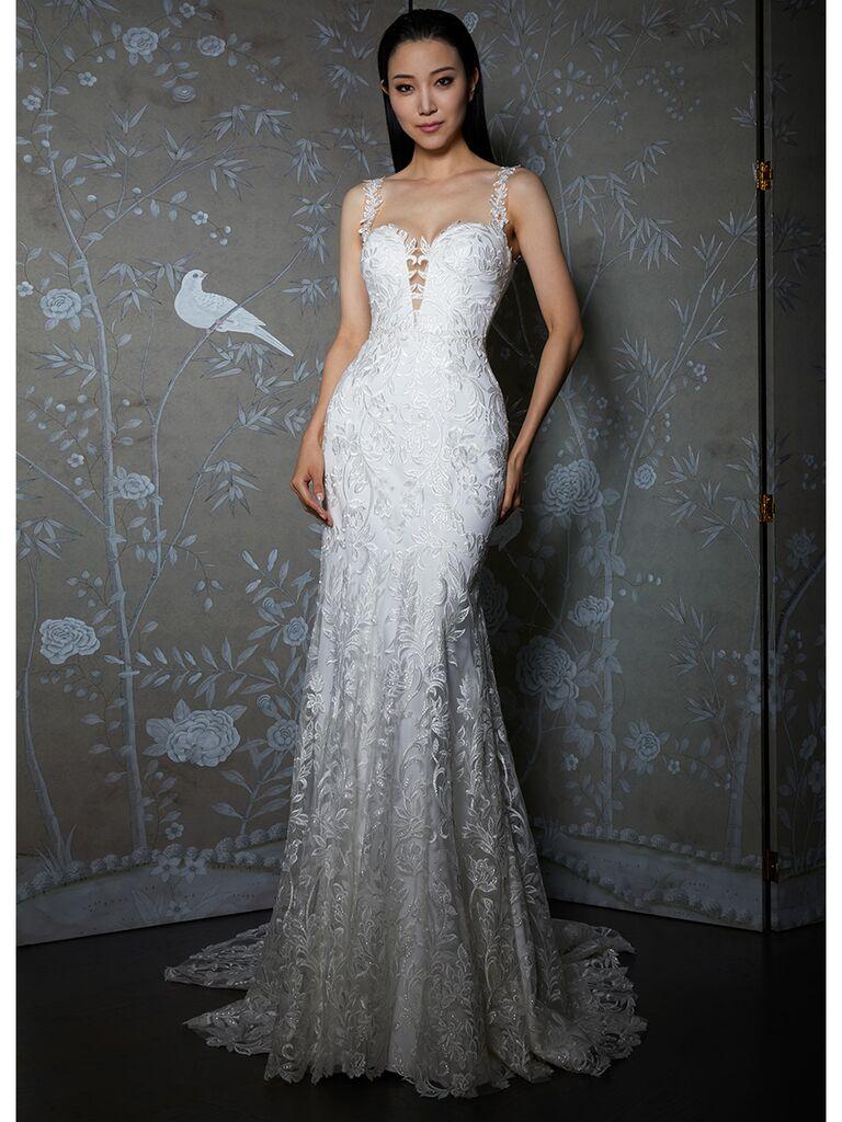 Legends by Romona Keveza wedding dress lace trumpet gown