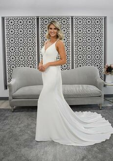 Stella York 7290 Sheath Wedding Dress