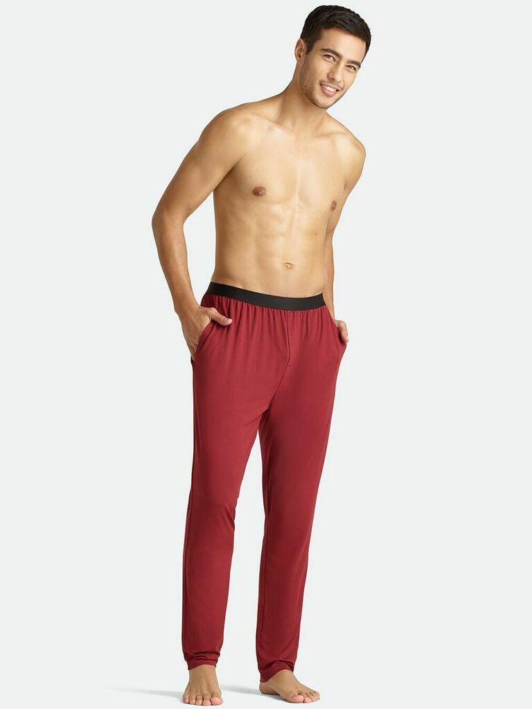 sleep jogger pajamas Christmas gift for husband