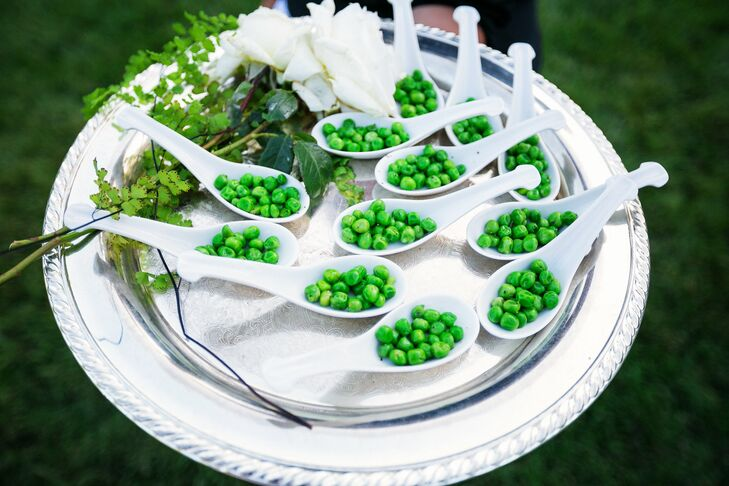 Pea Hors d'Oeuvre